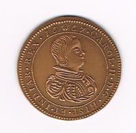 // PENNING  EGMP CAROL II D.G. HISP ET INDIAR REX 1667 - CHARLEROI 250 EX. - Jetons De Communes