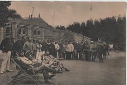 MILITAIRE .CARTE PHOTO.A IDENTIFIER ????allemagne.CACHET MAGDEBURG.1918.MAURICE TRICOT A BEAURAING.BELGIQUE - Deutschland