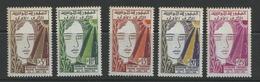 Tunesien 502/506 ** - Tunisie (1956-...)