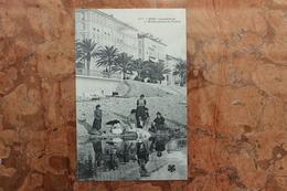 NICE (06) - LAVANDIERES A L'EMBOUCHURE DU PAILLON - Nice