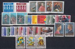 Liechtenstein 1984 Year (see Scan) ** Mnh (43916) - Liechtenstein