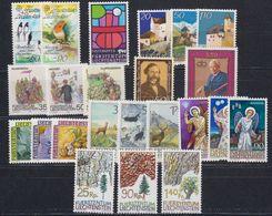 Liechtenstein 1986 Year (see Scan) ** Mnh (43917) - Liechtenstein