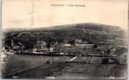 38 CREMIEU - Joli Paysage - Crémieu