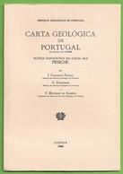 Peniche - Carta Geológica De Portugal + Mapa. Leiria. - Geographical Maps