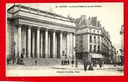 NANTES  --  Le  Grand  Théâtre  Et  La  Rue  Crébillon - Moisdon La Riviere