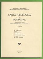 Cascais - Carta Geológica De Portugal + Mapa. Lisboa. - Geographical Maps