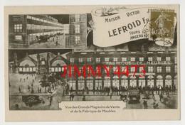 CPA - Maison Victor LEFROID En 1926 - Vue Des Grands Magasins De Vente Et Fabrique De Meubles - TOURS 37 Indre Et Loire - Tours