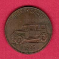 FRANKLIN MINT---SUNOCO---1925 VELIE SEDAN Token  (T22) - USA