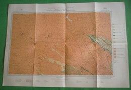 Castelo De Vide - Mapa. Portalegre. - Geographical Maps