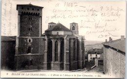 27 CHAISE DIEU - L'abside De L'abbaye Et La Tour Clémentine - France
