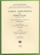 Sousel - Carta Geológica De Portugal + Mapa. Portalegre. - Geographical Maps
