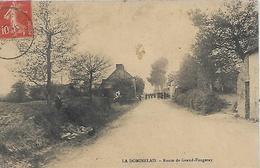 35, Ille Et Vilaine, LA DOMINELAIS, Route De Grand-Fougeray, Scan Recto-Verso - Frankreich