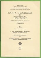 Covilhã - Carta Geológica De Portugal + Mapa - Geographical Maps