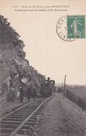 Près Brasparts Bois De Bodriec Passage De Ligne Des Chemins De Fer Armoricains Train Tramway éditeur Joncour N°676 - France