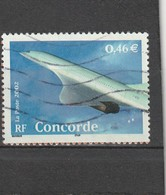 France Oblitéré  2002   N°  3471    Le Siècle Au Fil Du Timbre.  Concorde - France