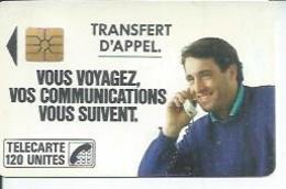 TELECARTE 120 UNITES - TRANSFERT D'APPEL - 06/ 1988 - S02 - Frankrijk