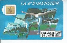 TELECARTE 50 UNITES - 4ème DIMENTION FEMMES - 11/ 1988 - S02 - Frankrijk