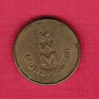 GERMANY   KWM MUNZPRUFER Token (T26) - Firma's