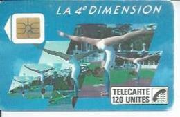 TELECARTE 120 UNITES - 4ème DIMENTION FEMMES - 11/ 1988 - S02 - Frankrijk