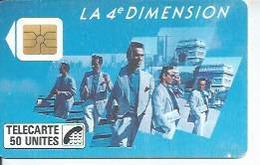 TELECARTE 50 UNITES - 4ème DIMENTION HOMMES - 11/ 1988 - S02 - Frankrijk