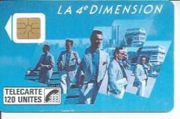 TELECARTE 120 UNITES - 4ème DIMENTION HOMMES - 11/ 1988 - S02 - Frankrijk