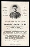 Faire-Part De Décès & Photo De Mademoiselle Ernestine Provost Décédée Le 09.01.1911 à 46 Ans - Décès