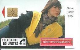 TELECARTE 50 UNITES - MANOUKIAN - 12/ 1988 - S02 - Frankrijk