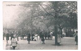 B-7265   LANGERBRUGGE : Pensionnat - Un Partie De La Cour ( Hoop, Cerceau, Hoepel ) - Evergem