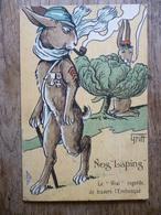 Nos Lapins , Illustrateur Griff, Circa 1920 - Humor
