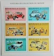 Guinee 1998**Mi.1999-2004. Cars , MNH [12;59] - Autos
