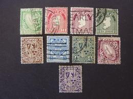 IRLANDE, Année 1941-44, YT N° 78 à 87 Oblitérés (sans Le 85) - 1937-1949 Éire