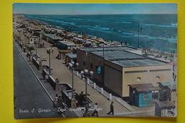Cartolina Porto S. Giorgio Lega Navale E Spiaggia  1958 - Ascoli Piceno