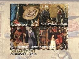 Niuafo'ou 2015, Christmas, Painting By Ghirlandaio, Hey, Alters, Diamantes, BF - Paintings
