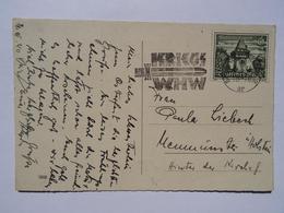 1940 DR Postkarte Kriegs WHW Berlin-Charlottenburg - Briefe U. Dokumente