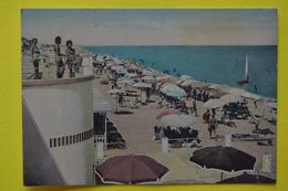 Cartolina Porto S. Giorgio Spiaggia  1955 - Ascoli Piceno