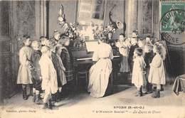 78-EPONE- L'AVENIR SOCIAL - LA LECON DE CHANT - Epone