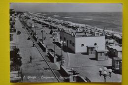 Cartolina Porto S. Giorgio Lungomare E Spiaggia  1955 - Ascoli Piceno