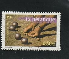 France Oblitéré  2003   N°  3564    Portrait De Région.  La Pétanque - France