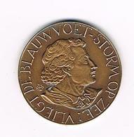 // PENNING  ALBRECHT RODENBACH 1880 - 1980 - VLIEGT DE BLAUWVOET - STORM OP ZEE - Pièces écrasées (Elongated Coins)
