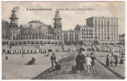 CP-JEN: Blankenberghe Casino, Kursaal Et Grand Hôtel. - Blankenberge