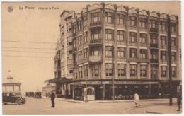 CP-JEN: La Panne Hôtel De La Panne. - De Panne