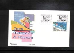 Andorra Spanish 2006 Olympic Games Torino Interesting Cover - Winter 2006: Torino