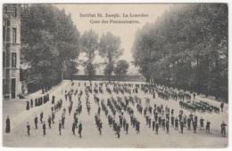 CP-JEN: La Louvière Institut St-Joseph Cour Des Pensionnaires. - La Louviere