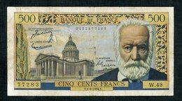 500  Fr  Du  2/9/1954  Dans  L'etat - 1871-1952 Antichi Franchi Circolanti Nel XX Secolo