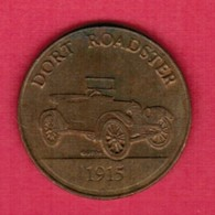 FRANKLIN MINT---SUNOCO---1915 DORT ROADSTER Token  (T32) - USA