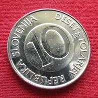 Slovenia 10 Tolarjev 2002 KM# 41 Slovenie Eslovenia Slowenien - Slovenia