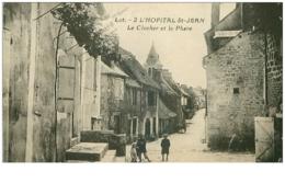 46.L'HOPITAL SAINT JEAN.N°21720.LE CLOCHER ET LE PHARE - Autres Communes