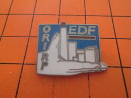 410a PIN'S PINS / Rare Et De Belle Qualité ! / Thème EDF /  ORI RP EDF - EDF GDF