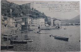 SAN SEBASTIAN PASAJES DE SAN JUAN - CPA 1904 - Guipúzcoa (San Sebastián)