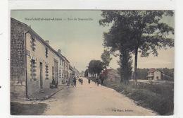 Neuchâtel-sur-Aisne - Rue De Menneville - D-Armeecorps-Stempel - 1910.        (A-104-160819) - Lothringen